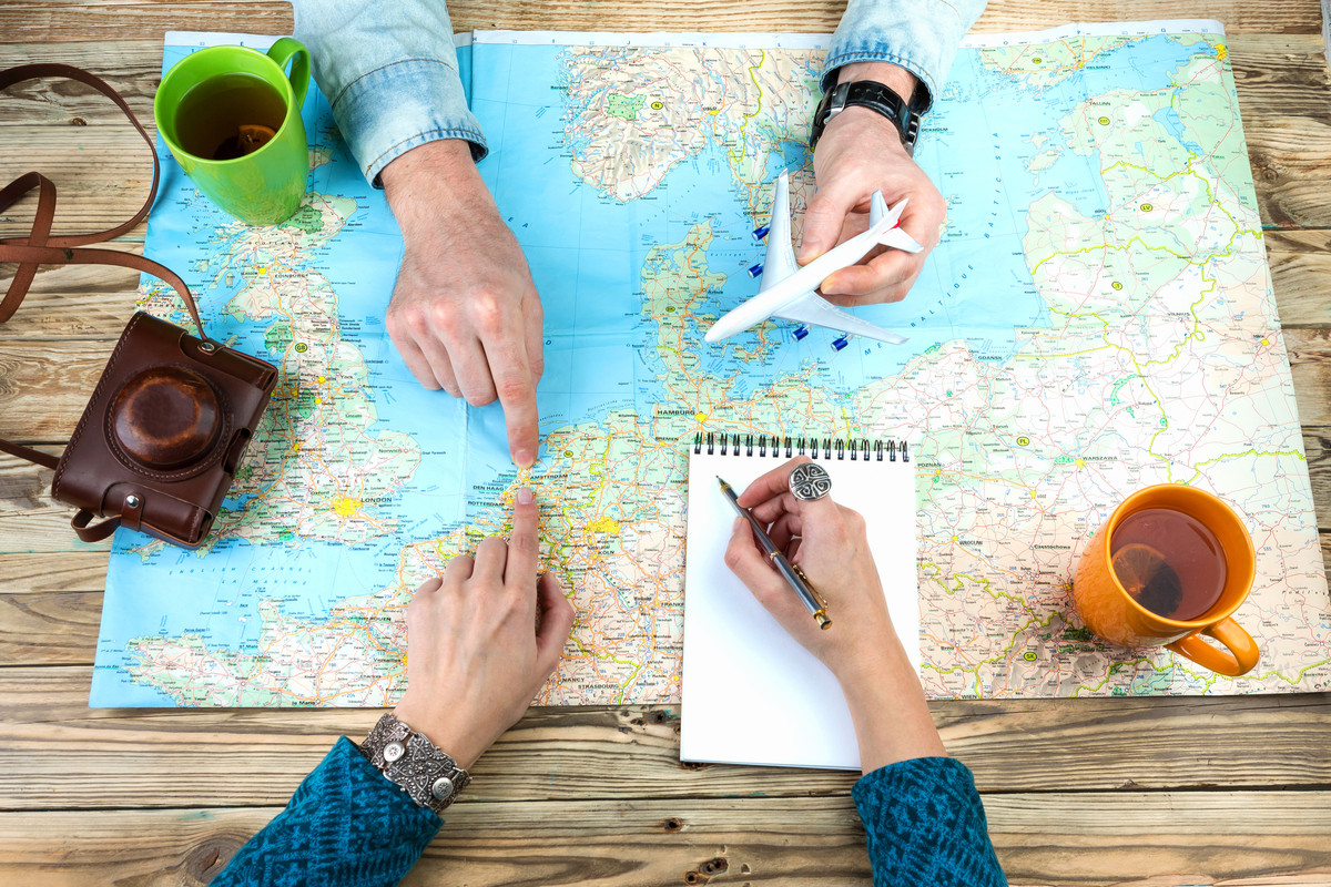 Travel agencies find clever ways to communicate with their clients.